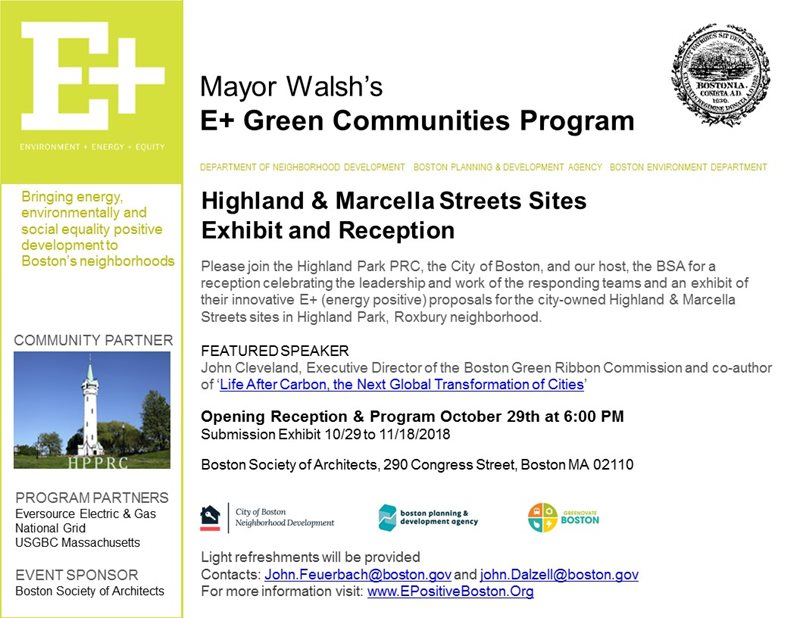 E+ Highland & Marcella Site - RFP Submission Exhibit and
