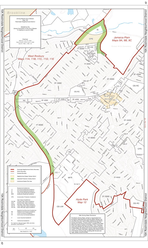 Zoning Maps | Boston Planning & Development Agency