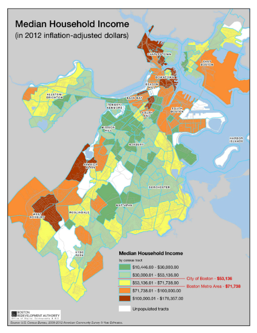 Census And Demographic Maps  Boston Planning