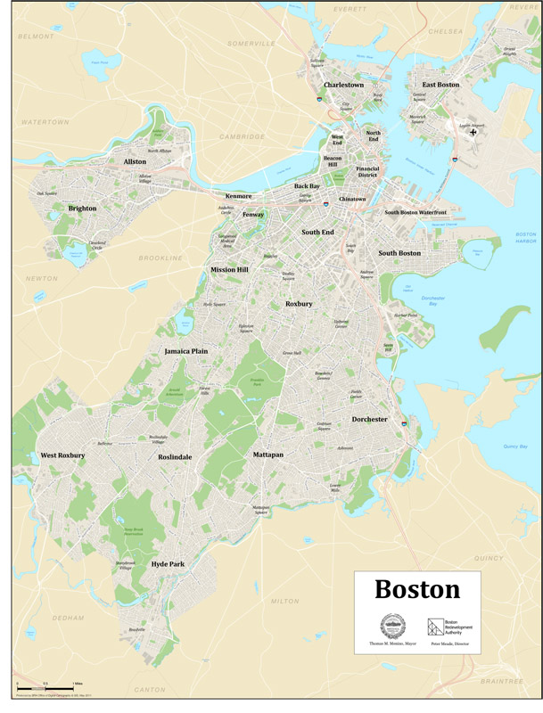 Citywide Maps | Boston Planning & Development Agency