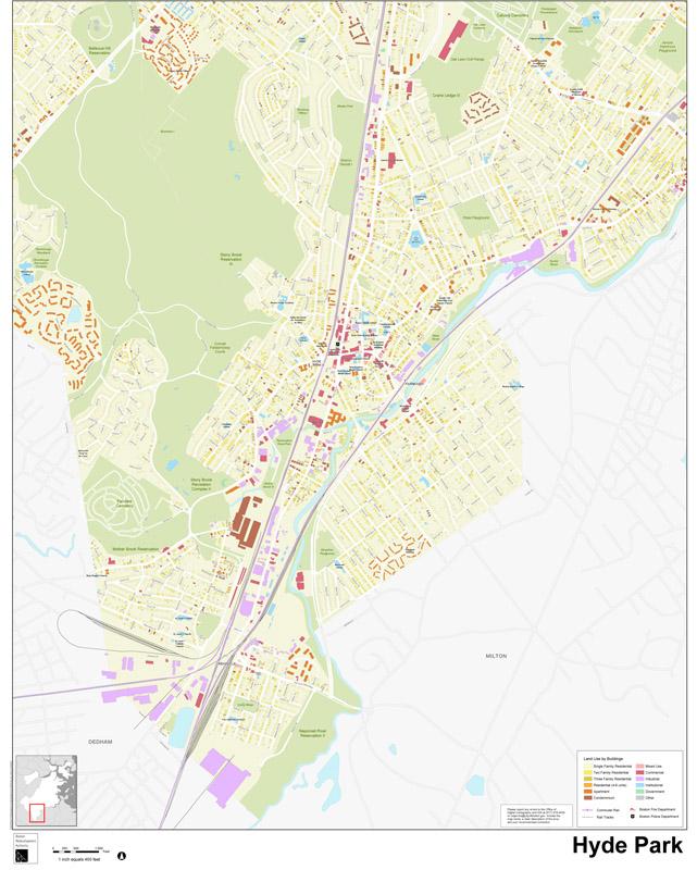 Neighborhood Maps Boston Planning Development Agency - Boston neighborhood map