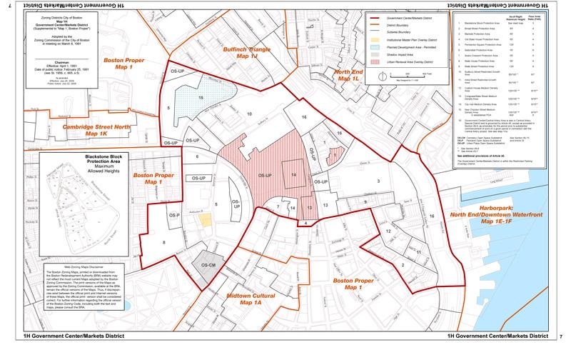 Zoning Maps  Boston Planning Amp Development Agency