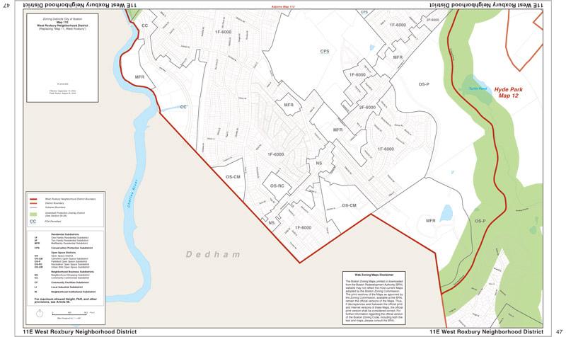 Zoning Maps | Boston Planning & Development Agency