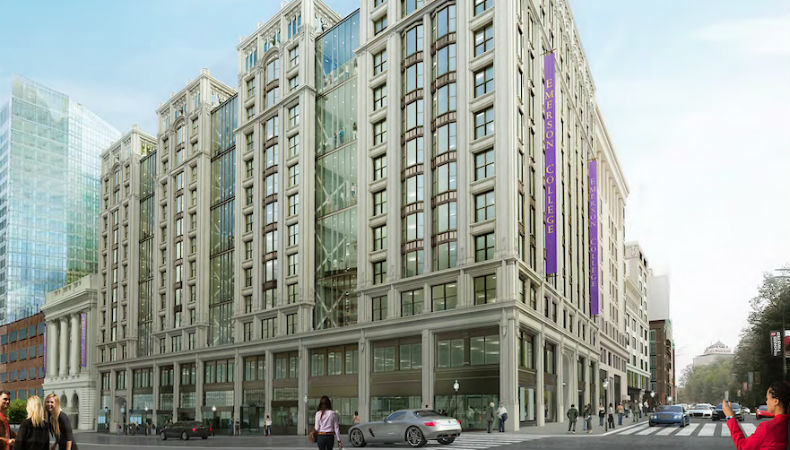 Emerson College Little Building Addition And Renovation Project Boston Planning Development Agency