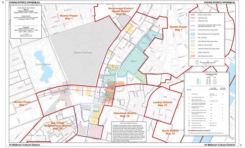 Boston Zoning Map