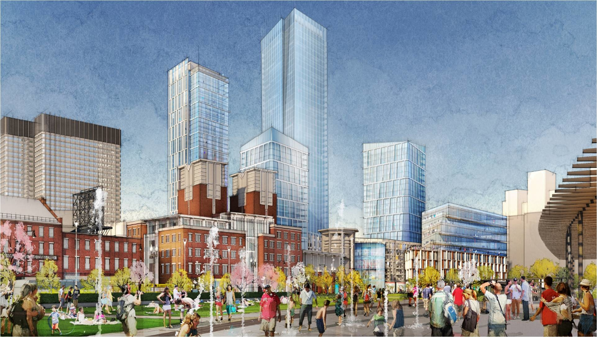 Government Center Garage Project Filing Boston Planning