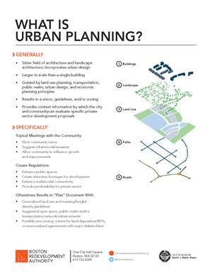 What is Urban Planning? A South End Case Study | Boston Planning