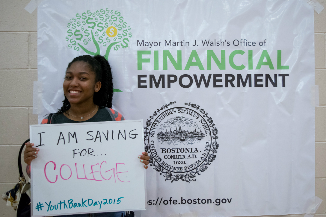 First Boston Youth Bank Day draws a crowd of 400 young residents ...