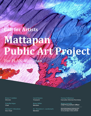 Mattapan Call for Artists