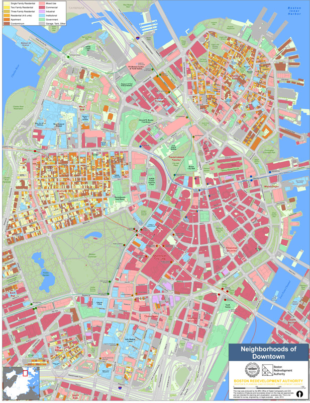 Neighborhood Maps Boston Planning Development Agency
