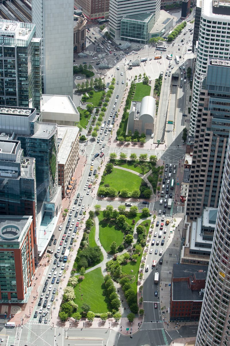 Rose Fitzgerald Kennedy Greenway Planning Boston