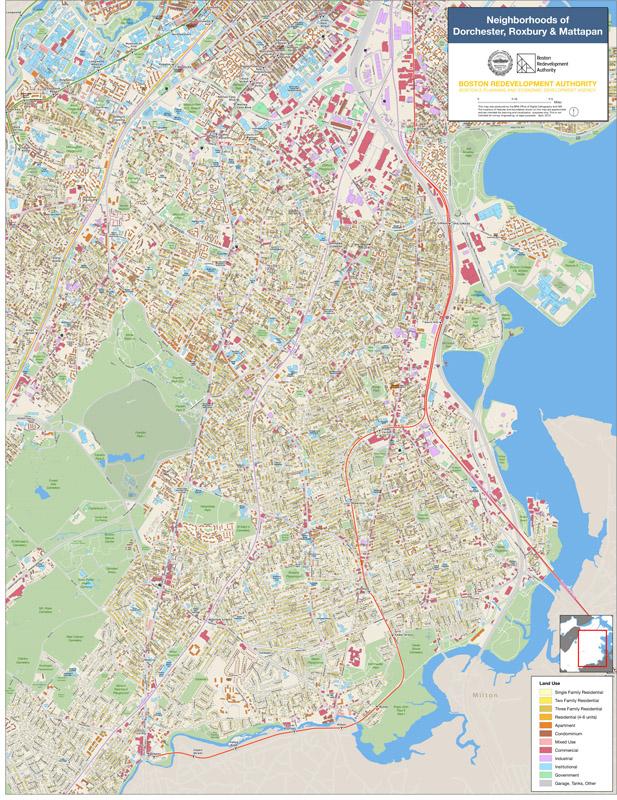 Neighborhood Maps Boston Planning Development Agency