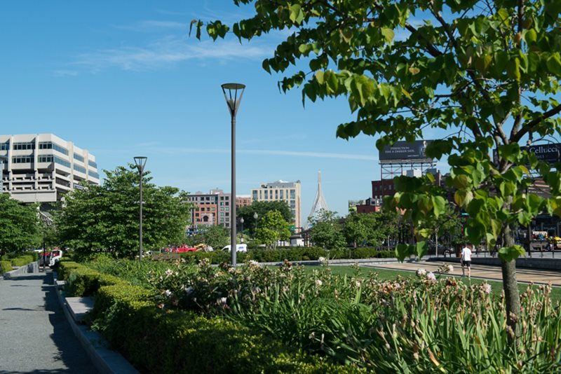 Rose Fitzgerald Kennedy Greenway Planning Boston Planning