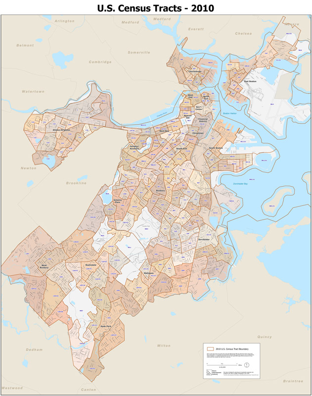 2010 Census Maps Census Tracts 2010