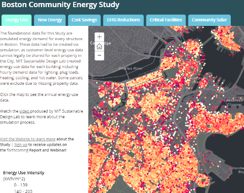 Explore Community Energy Potential in Boston