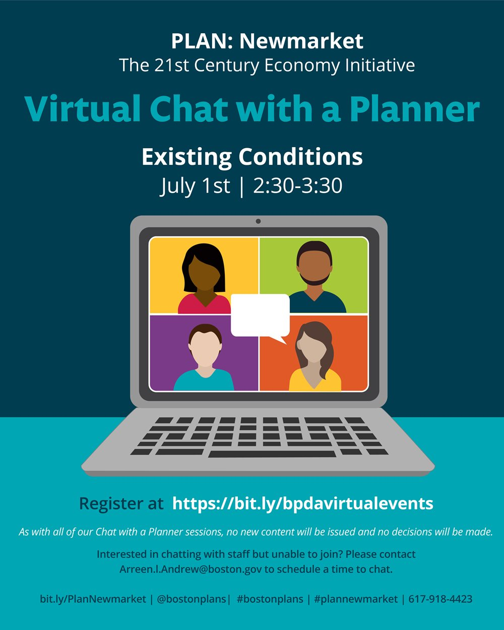 Virtual Chat with a Planner