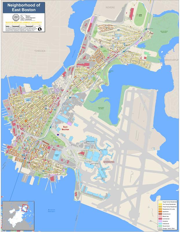 East Boston Map Neighborhood Maps | Boston Planning & Development Agency