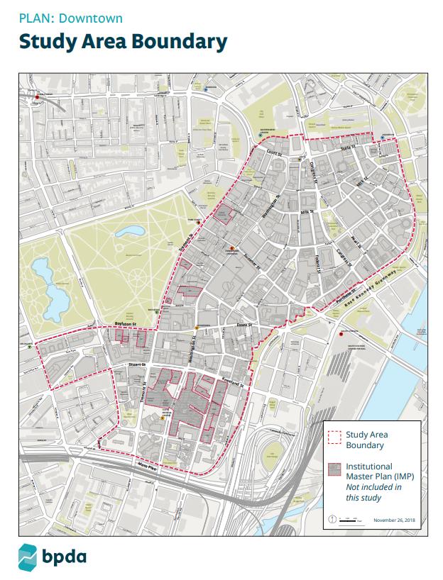 PLAN: Downtown Preliminary Study Area Boundary